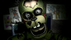 William Afton Jumpscare Remake by KittenLover75