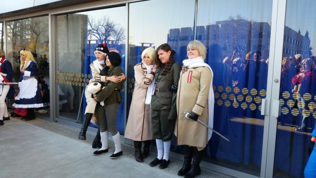 second day at Sac-Hetalia meetup-RoChu by ArthurJones93