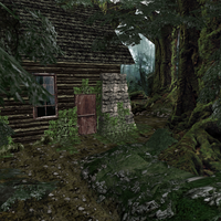 REO Flashback Cabin Exterior by Adngel