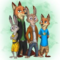 Wilde Family (By Ziegelzeig) - 'Grief's Reunion' by giftheck