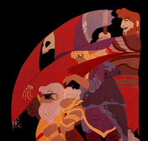 Adventure Zone - The boys by Kelgrid