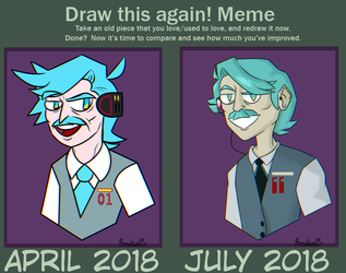 Mike Hatsune Redraw by BradicalArt