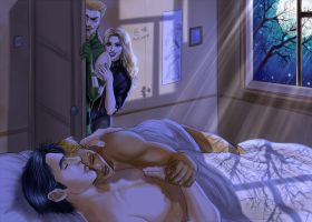 Kyle x Connor - night by Autumn-Sacura