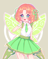 [C] ///green butterfly by Seraphy-chan