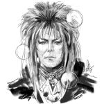 Goblin King Sketch by mkmatsumoto
