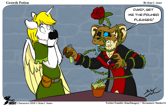 Growth Potion by Slasher12
