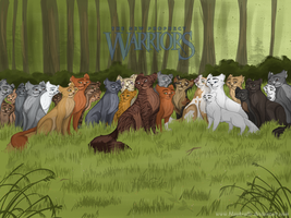 Cats of  Thunderclan by Blaukralle