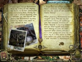 Return to Ravenhearst Journal 01 by InkHeart17