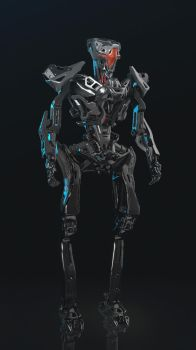 Robot concept by WiredHuman