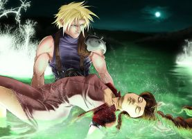 Aerith's Rest by ForkysAnime
