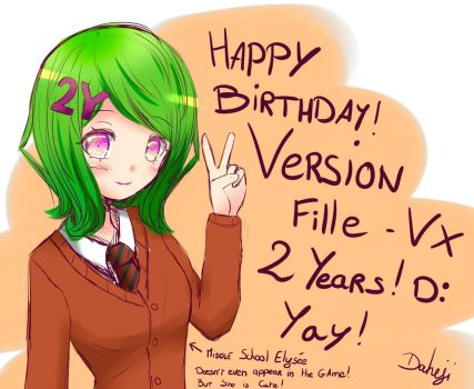 Version Fille VX - 2 years birthday ! D: by Daheji