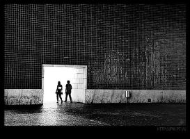 They walk to the light and... by eXcer