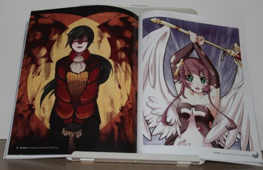 Anime Angels artbook - interior art photo #4 by animeangelsbook