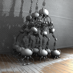 Teatime - Mandelbulb3D with Parameter and Maps by matze2001
