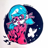 INKTOBER DAY 11 - Spots On! by marikyuun