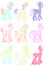 20 pts Adopts {7/9 OPEN] by gamerbunnychan