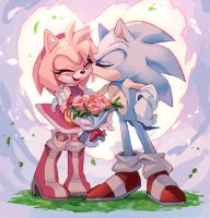 Sonamy - Thankfully you're here by Shira-hedgie