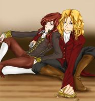 Armand and Lestat by Zestyx