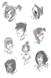Sketchdump3 by AssassiniSpice