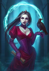 Queen of crows by inSOLense