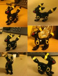 Umbreon Sculpture by SweetLogic