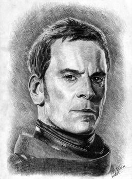 Portrait of Michael Fassbender by Architect-of-Dreams