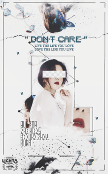 DONT CARE by quetrampd