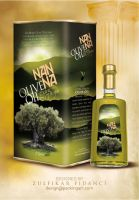 Nanna Oliveoil Packaging by byZED