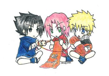 NARUTO: Knit this... how? by mintntea