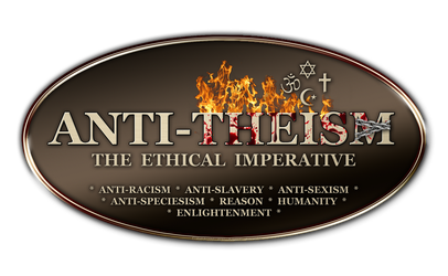 Anti-Theism - Antitheism - Logo by PlaysWithWolves