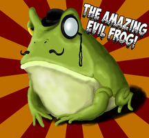 The amazing Evil Frog! by Miguelhan