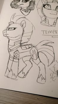 Tempest Pen Sketch by The-Sacred-Rose