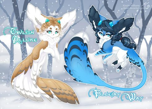 Winter Wanderers - Elnin Guest Art by deeed