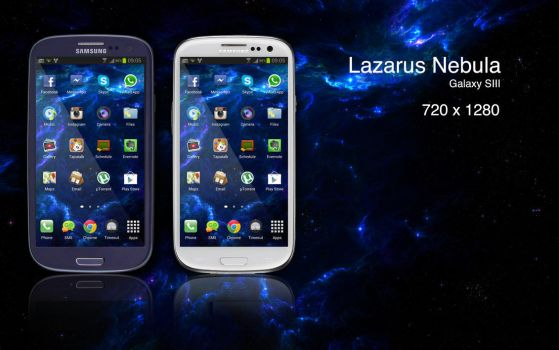 Lazarus Nebula Mobile Phone version by felixufpe