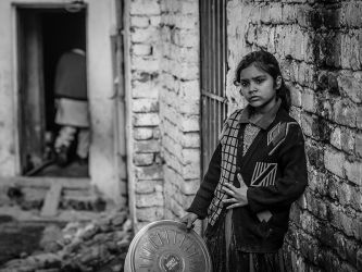 Contemplation In The Alley by InayatShah