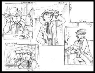 Beatles: Hard Day's Night by crumblygumbly