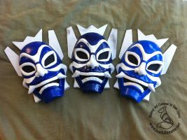 Blue Spirit Masks 2 by theassassinnox