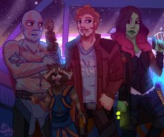 [GotG Vol.2] Ready for a flight by KateKenway