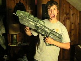 ma5c assault rifle prop by PanzerForge