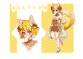 Nekomimi Adopt #2 - Auction |Closed| by Kairomancy-adopts