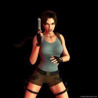Lara Croft 94 by Nicobass