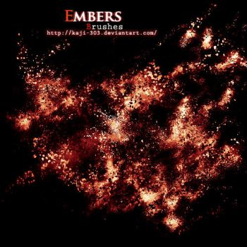 Embers Brush Set by Kaji-303