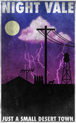 Night Vale: Just a Small Desert Town by 8zu