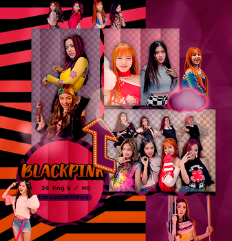 Pack Png 332 | BLACKPINK | #6 by IDreamWithFire