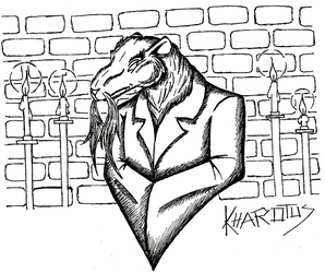 Master Splinter sketch by Kharotus