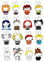 Generation Miffy 16th by likimonster