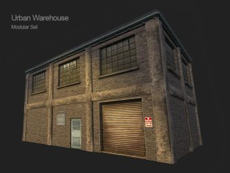 3D Modular Urban Warehouse by Cydel