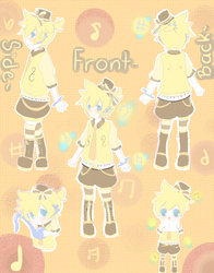 Len new outfit-contest by flanpu