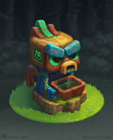 Forest Tiki by PVersus