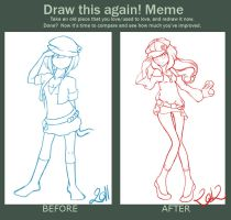 Draw again MEME 2011 - 2012 by wind-hime-kaze